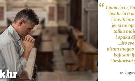 Hvalit ću te i slaviti jer si mi oprostio!