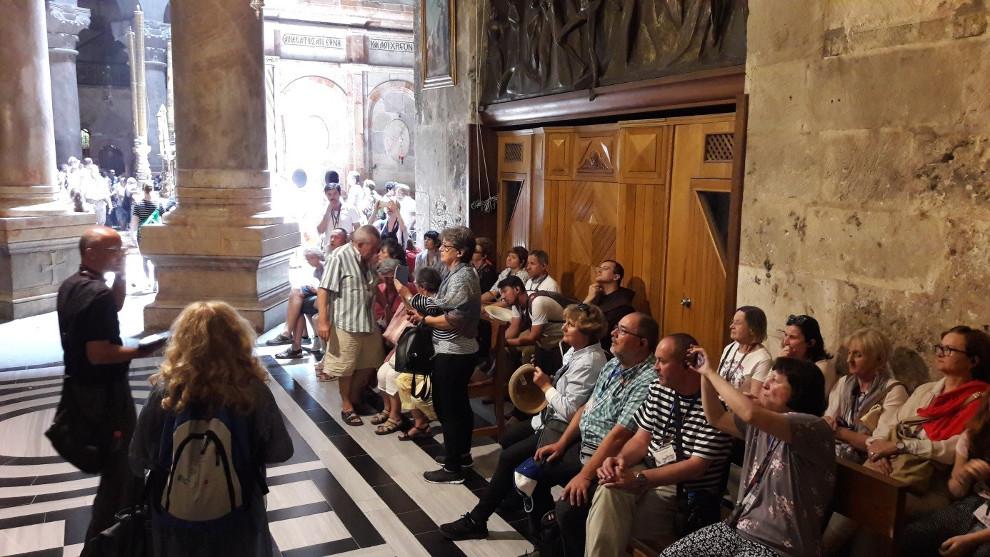 U bazilici Isusova groba