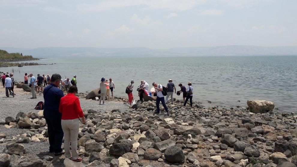 Kod crkve Petrova primata uz Galilejsko jezero