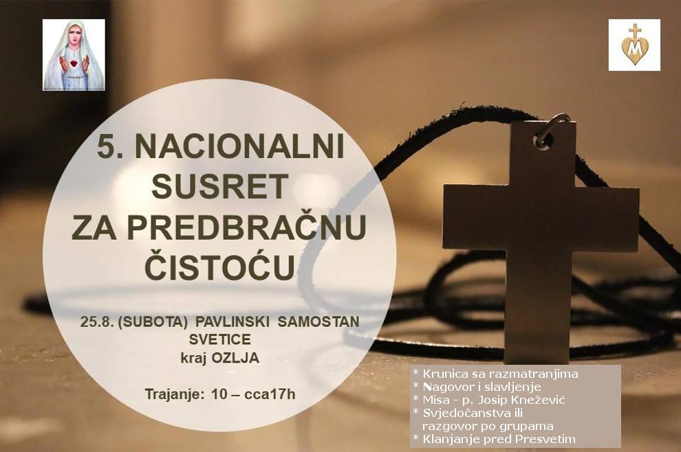 Dođi na peti Nacionalni susret za predbračnu čistoću!