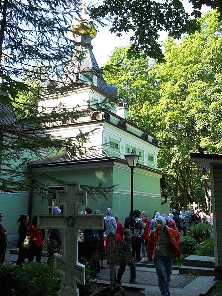 Kapela blažene Ksenije na Smolenskom groblju