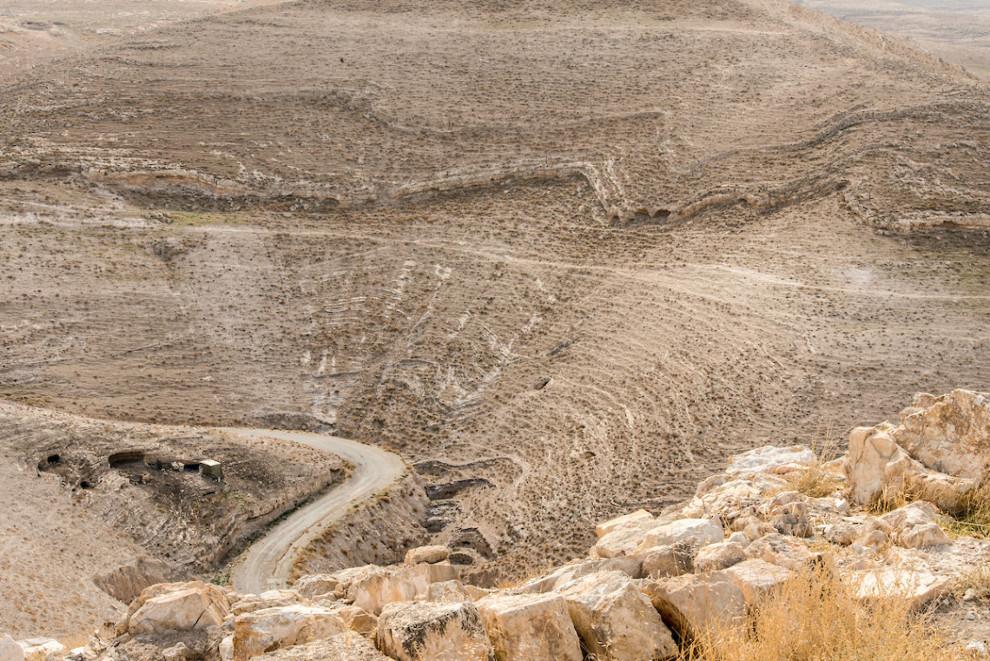 Cesta koja vodi do tvrđave.