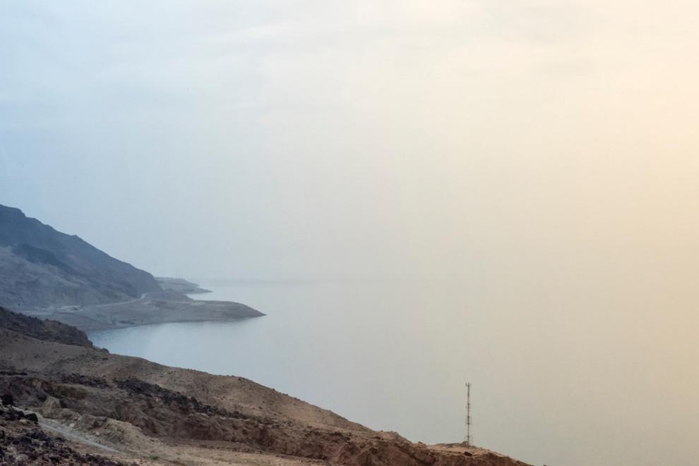 Pogled s brda.