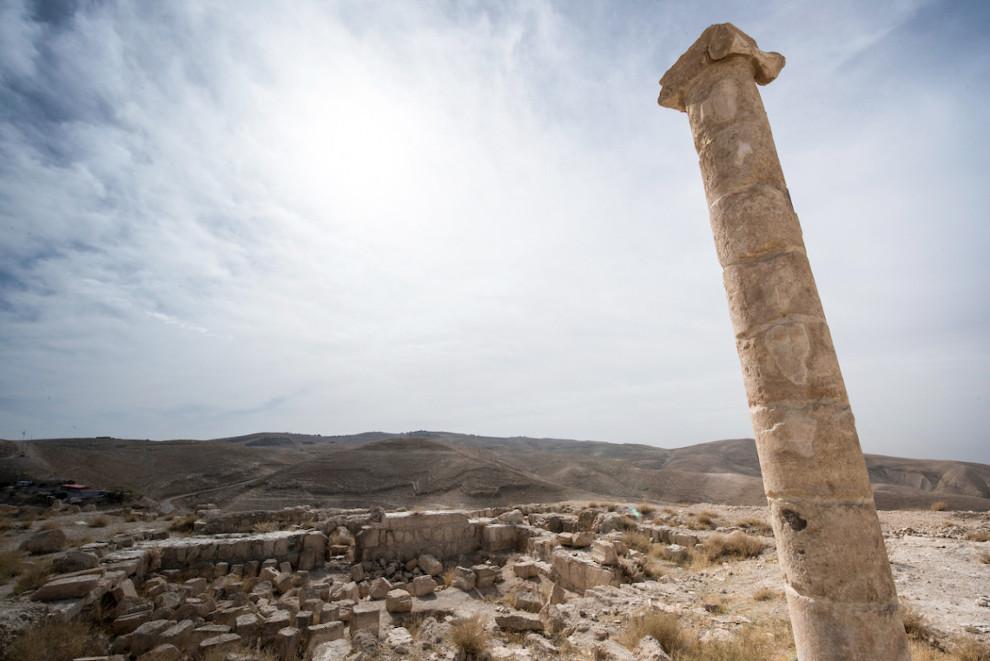 Ostaci palače u kojoj je Saloma plesala za kralja Heroda i u kojoj je odrubljena glava Ivanu Krstitelju.