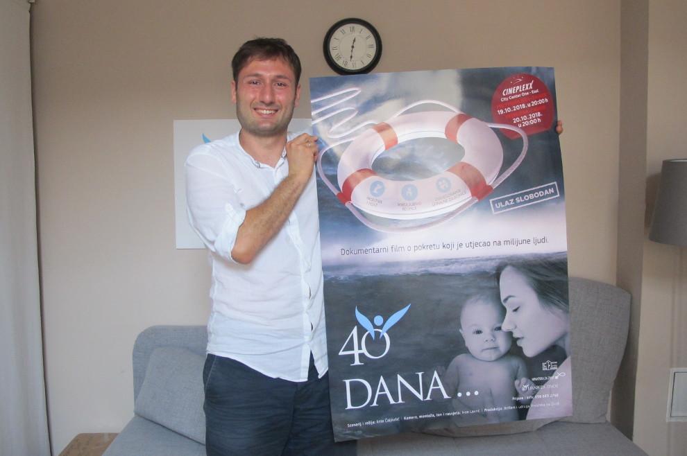 """Voditelj hrvatske pro-life inicijative povodom premijere dokumentarca """"40 dana..."""" """"Želimo cijelom svijetu svjedočiti što smo doživjeli u Hrvatskoj i o tome što je to borba za život"""""""