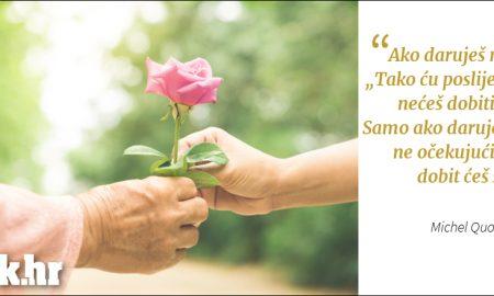 Daruj ne očekujući ništa zauzvrat... ❤