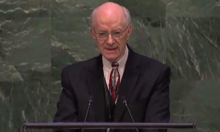 """O. Lee Stoneking svjedočio pred Općom skupštinom UN-a: """"Isus me je vratio iz mrtvih"""""""
