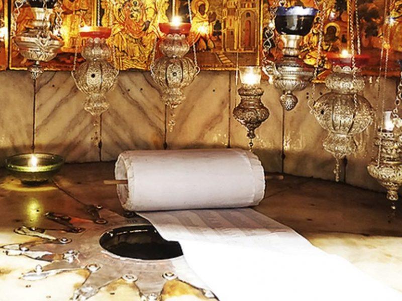 U božićnoj noći sva poslana imena bit će položena na mjesto Isusova rođenja
