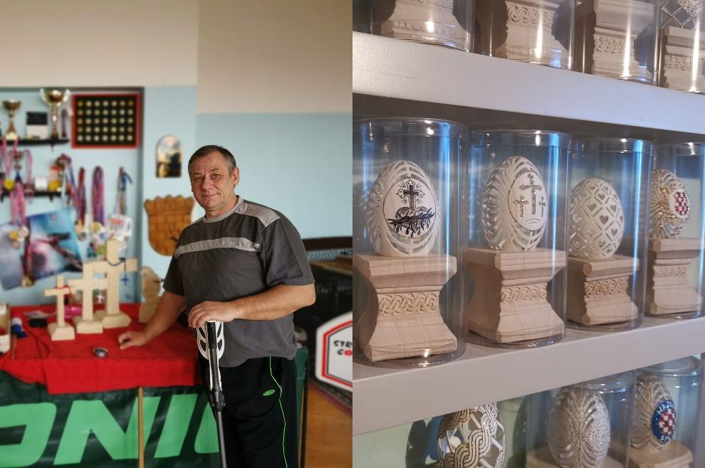 Ivica Vugrinec: Nakon ratnih stradavanja mir sam pronašao u vjeri i izradi pisanica