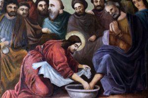 Poruka geste pranja nogu ne počinje u dvorani Posljednje večere, ona se provlači kroz cijeli Isusov život