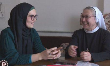 VIDEO Prijateljstvo koje budi nadu i vjeru: Sestra Branka i Šejla pomažu i Bošnjacima i Hrvatima i Srbima