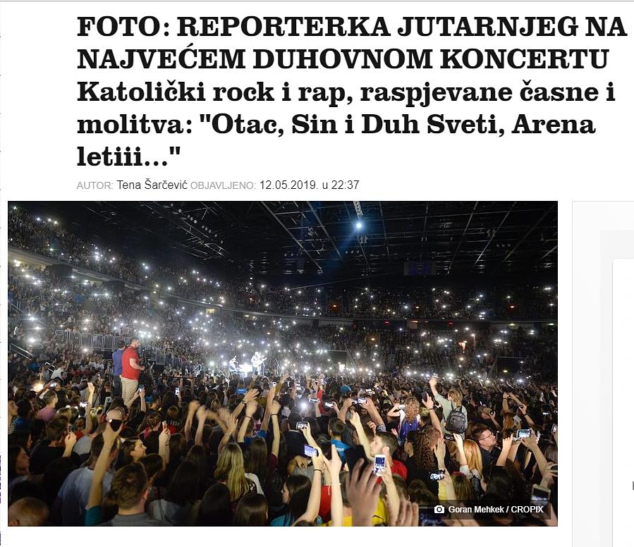 Jutarnji.hr o koncertu