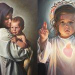 PREDIVAN TALENT Pogledajte genijalne slike Djeteta Isusa koje je naslikala mlada Talijanka