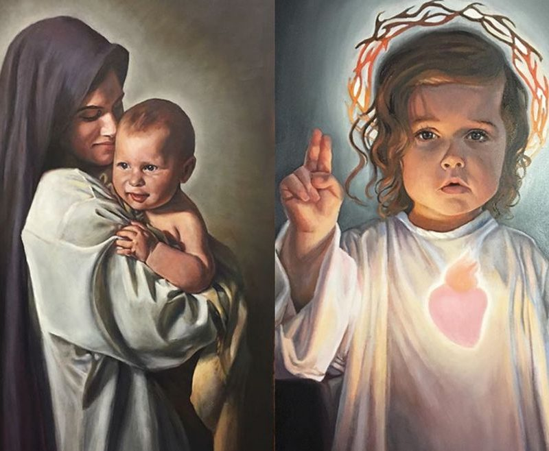 Slike Djeteta Isusa kakve još niste vidjeli: mlada umjetnica svojim talentom želi pomoći drugima da izgrade intimniji odnos s Isusom