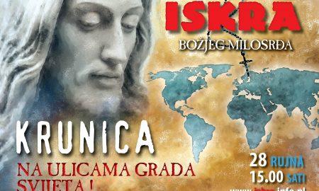 Štovatelji Božjega milosrđa pozivaju na molitvu krunice na ulicama: Prijavite svoje mjesto!