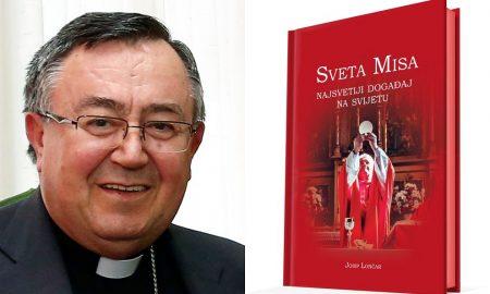 Mons. Vinko Puljić o knjizi o Svetoj Misi: 'Raduje me da jedan laik piše o Euharistiji s toliko ljubavi'