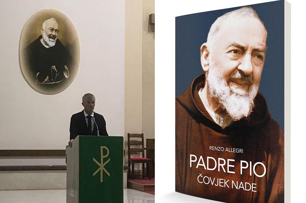 Sinoć je u Zagrebu predstavljena knjiga 'Padre Pio – čovjek nade' u izdanju Biblioteke Figulus