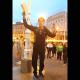 KOMENTAR Na glavnom zagrebačkom trgu govorio o Isusu, dok nije došla policija