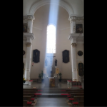 POGLEDAJTE Ovo je snimio naš čitatelj u crkvi svetog Petra i Pavla. Slučajnost ili?