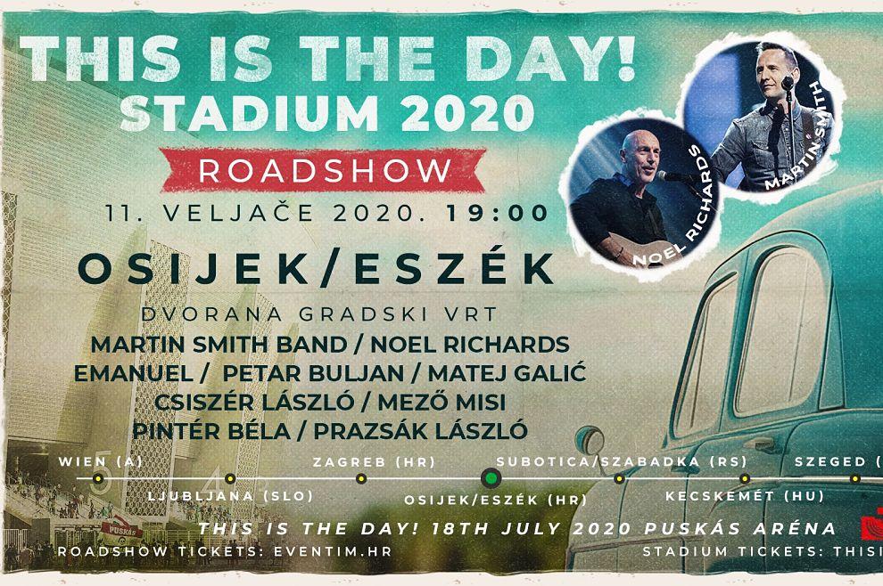 JEDINSTVEN DOGAĐAJ Martin Smith Band, Noel Richards, Petar Buljan… i mnogi drugi na velikom koncertu u Zagrebu i Osijeku!