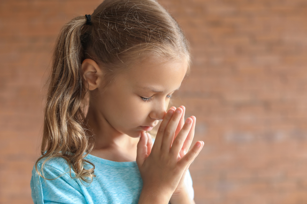 Zamolio sam svoju dvogodišnju kći da moli za mene. Evo što se dogodilo