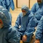 DIRLJIV PRIZOR Pogledajte kako talijanski liječnici mole prije posla
