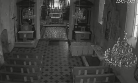 VIDEO Pogledajte kako je izgledao trenutak potresa u svetištu u Remetama