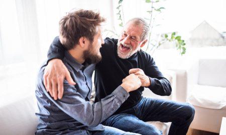 U našem prvom razgovoru nakon 20 godina, doveo sam svoga oca Isusu