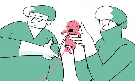 VIDEO Izvrstan animirani film koji pokazuje što se događa ako se na vrijeme ne presječe pupčana vrpca