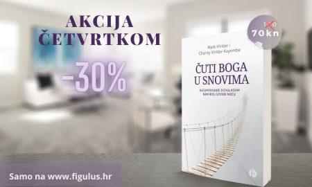 """OVOGA ČETVRTKA Knjiga """"Čuti Boga u snovima"""" snižena 30%!"""