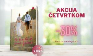 """POPUST ČETVRTKOM Ovoga četvrtka potražite knjigu """"Tri koraka do prave ljubavi"""" sniženu 30%!"""