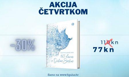 """OVOGA ČETVRTKA Knjiga """"365 dana s Duhom Svetim"""" snižena 30%!"""