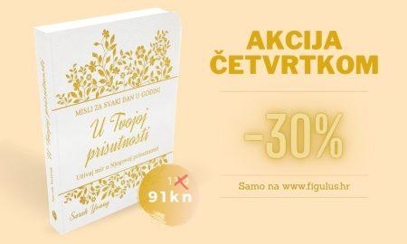 """OVOGA ČETVRTKA Knjiga """"U Tvojoj prisutnosti"""" (ženska verzija) snižena 30%!"""