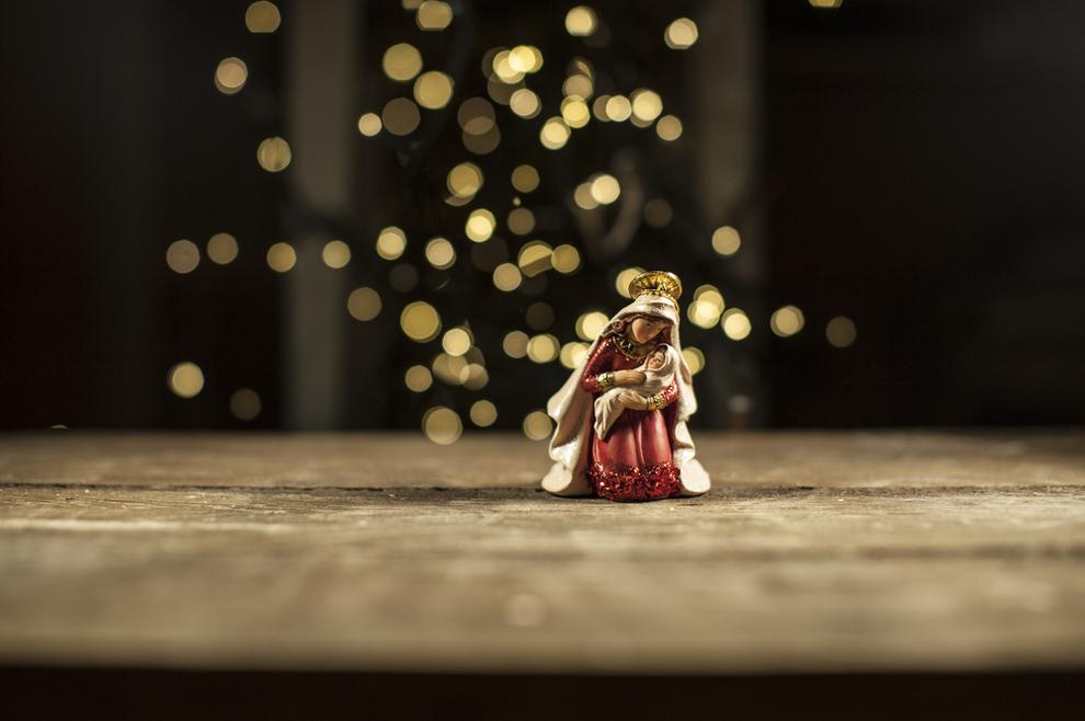 U košmaru ružnih stvari, Bog nam šalje svoga Sina koji će spremno ponijeti naše grijehe