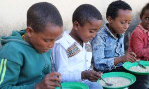 Etiopija, glad