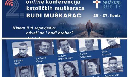 """Druga online konferencija katoličkih muškaraca """"Budi muškarac"""""""