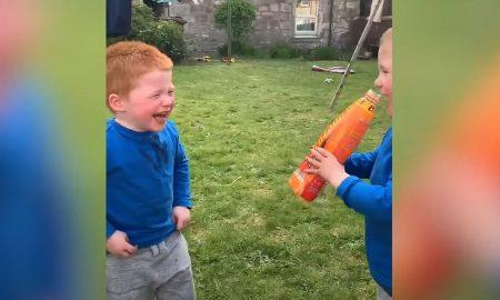 VIDEO Tako malo je potrebno za smijeh (bar njima)