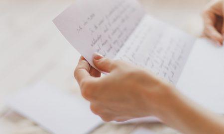 'Morao sam Ti napisati pismo da Ti kažem koliko se brinem za Tebe…'