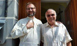Marino Restrepo i pater Marko Glogović