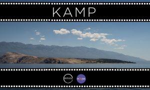 Projekcija dokumentarnog filma KAMP u dvorištu bazilike Srca Isusova