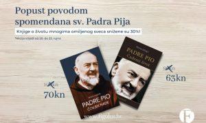 NE PROPUSTITE Knjige o životu Padra Pija snižene 30%!